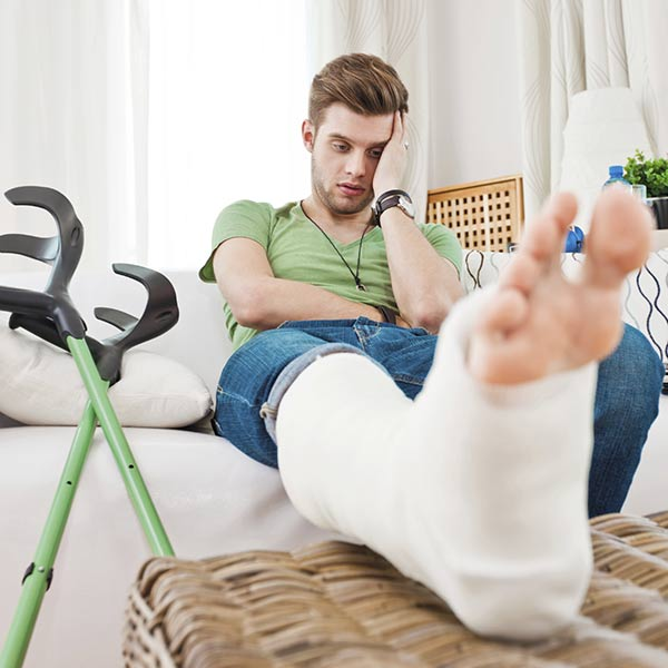How much compensation can I get for a broken leg?